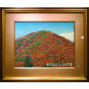 「紅葉山」P10号 2012年制作