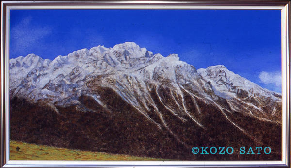 富士山をわずかに超える標高約 3,800 mにあるキャンジン・ゴンパという場所のパノラマ風景です。