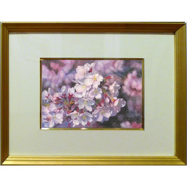 佐藤宏三「桜花」No.3 日本画