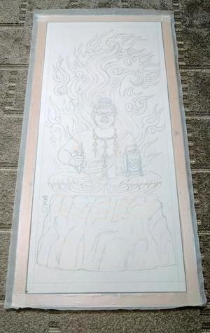 【Hidden Art】化仏 大日如来坐像 ドーサ洗い