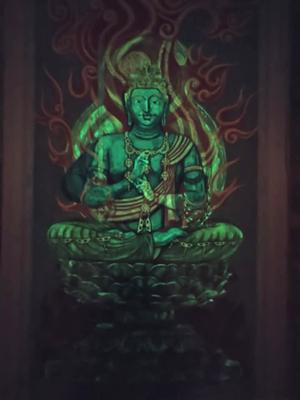 【Hidden Art】化仏 大日如来 不動明王 蓄光顔料による彩色